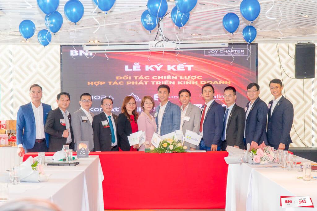 Lễ ký kết hợp tác kinh doanh