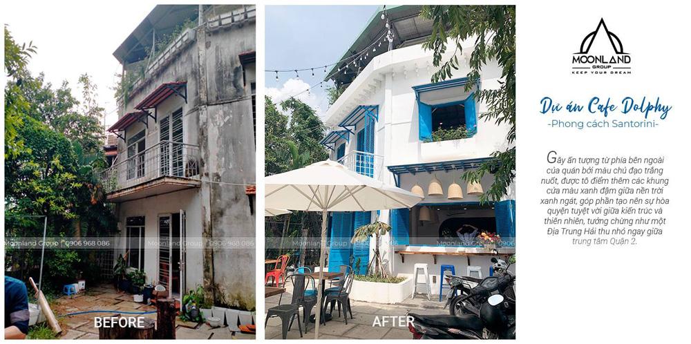 Hình ảnh trước và sau khi cải tạo